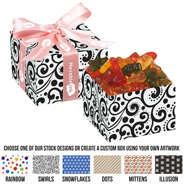 Medium Gala Gift Box With Gummy Bears
