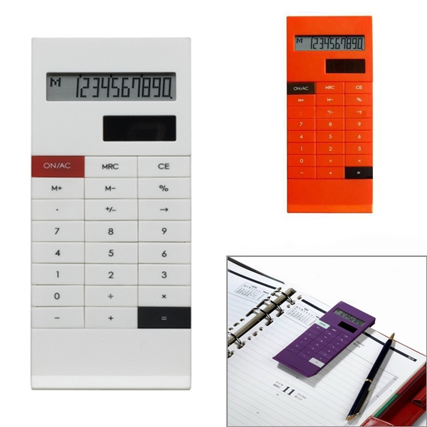 Calculator Solar Powered With Clip