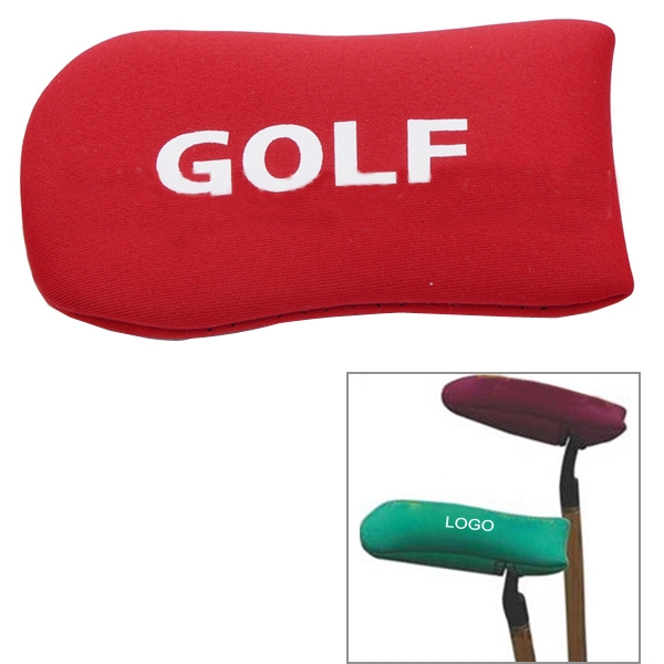 Gold Putter Cover