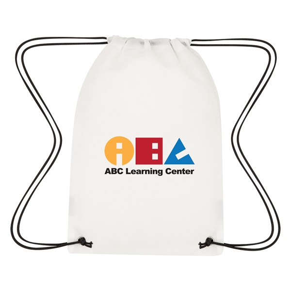 Lil' Bit Reflective Coloring Drawstring Bag With Crayons