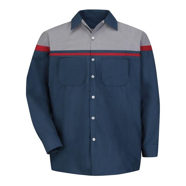 Red Kap Performance Tech Long Sleeve Shirt