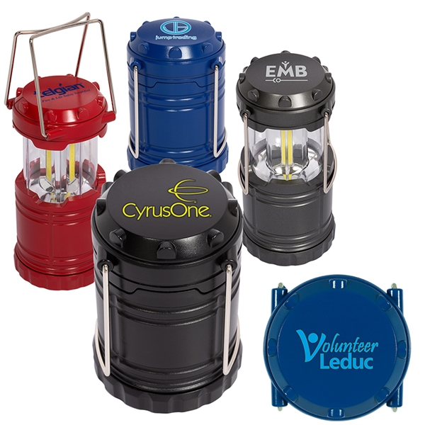 Mini COB Camping Lantern-Style Flashlight