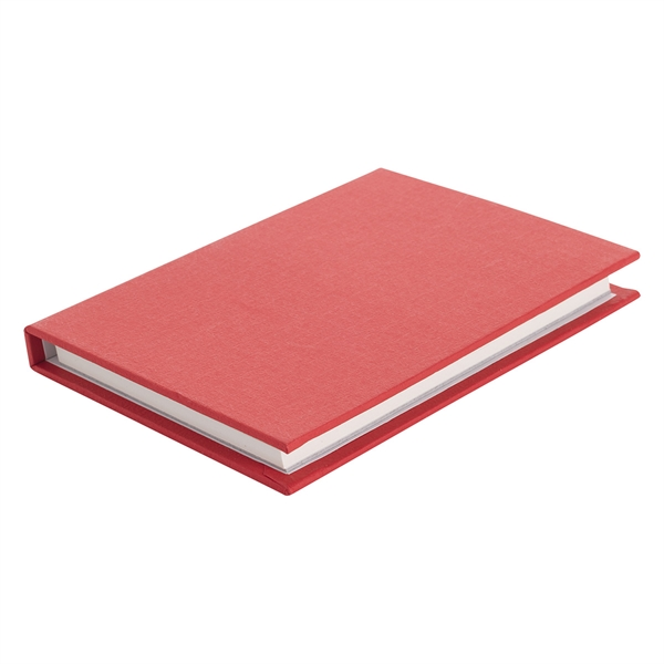 """3 1/2"""" x 5"""" Jotter With Sticky Notes And Flags"""