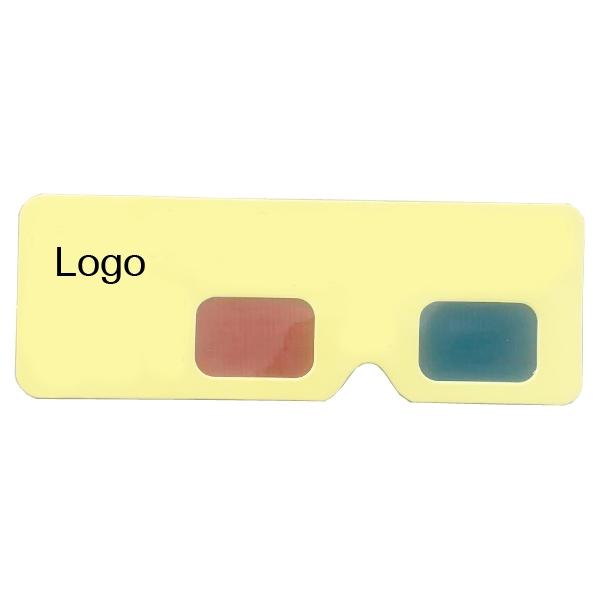 3D Paper Glasses Card