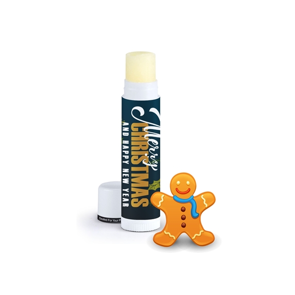 Holiday Flavored Natural Beeswax Lip Balm