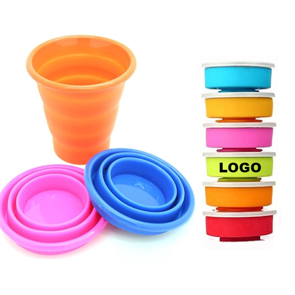 7 oz Portable Silicone Folding Cup