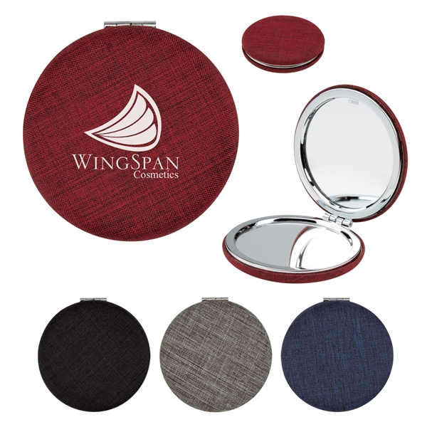 Arden Heathered Compact Mirror