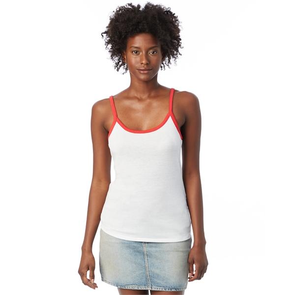Alternative Ladies' Ringer Vintage Jersey Cami Tank Top