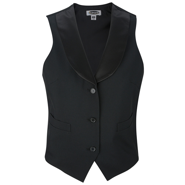 Ladies' Satin Shawl Vest