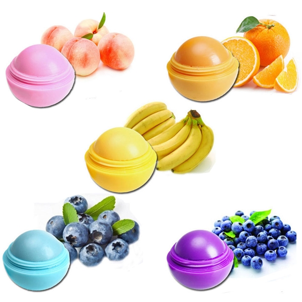 Fruit Moisturizing Lip Balm Ball Lipstick