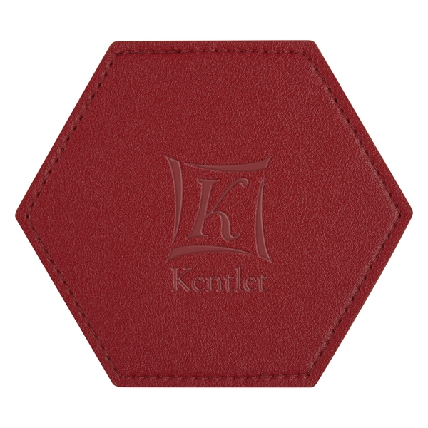 Leatherette Coaster