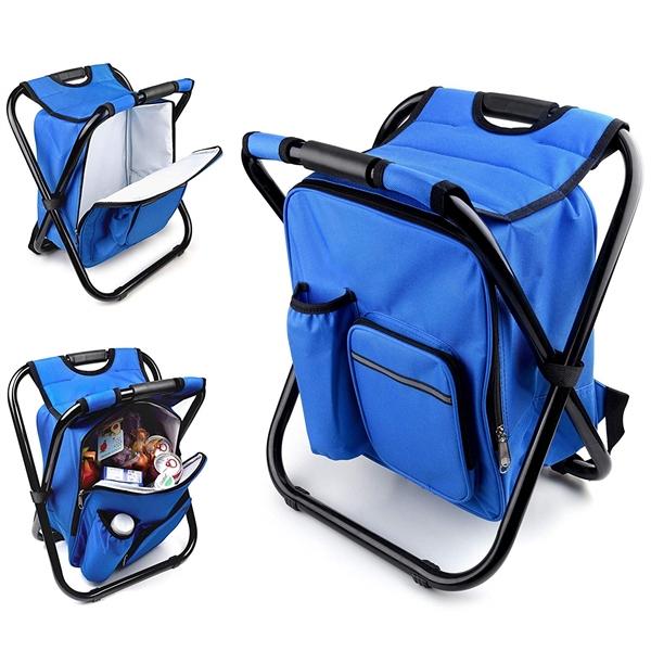 Polyester Zippered Cooler Bag Chair