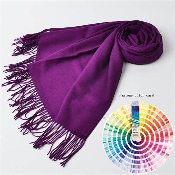 40Color Pashmina Wool Cashmere Large Size