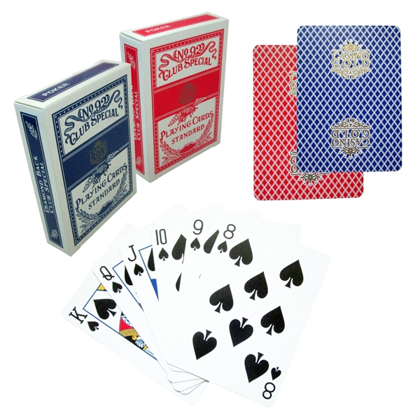 Custom Casino Playing Cards