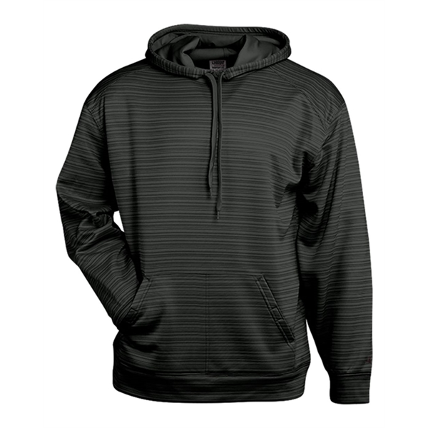 Badger Striped Hooded Sweatshirt