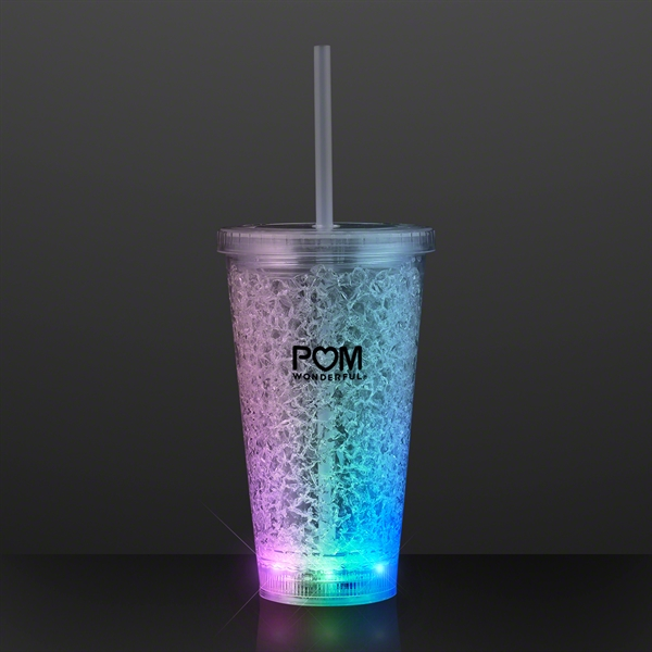 Cracked Ice Light Up Tumbler Cup