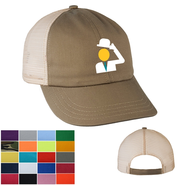 Unstructured Trucker / Baseball Cap