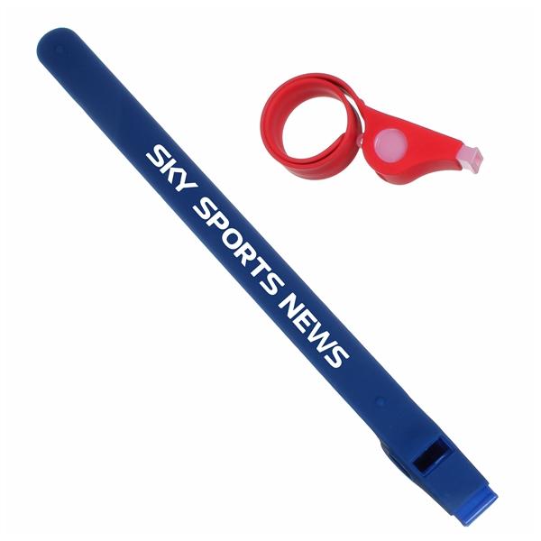 Slap Bracelet Whistle