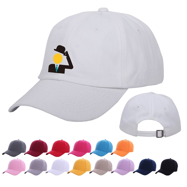 Unconstructed Cotton Baseball Cap