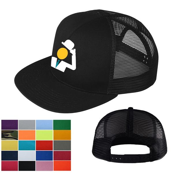 Snapback Mesh Cap