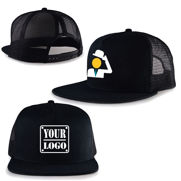 Snapback Baseball Cap / Mesh Hat