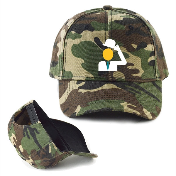 Camouflage Cotton Twill Cap