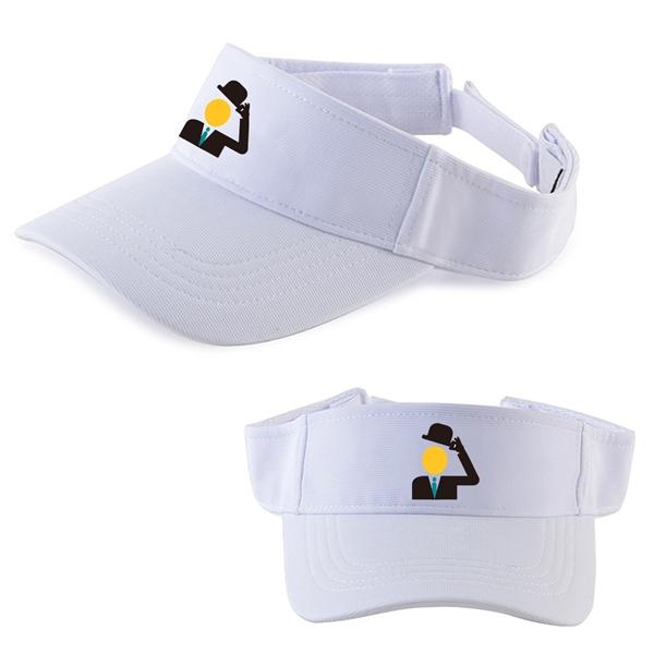 White Golf Hat Visor