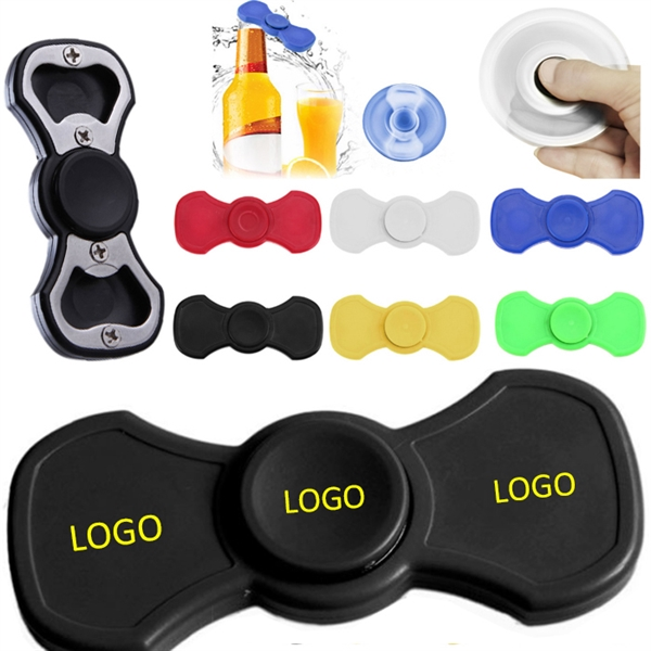 Hand ABS Fidget Spinner Bottle Opener