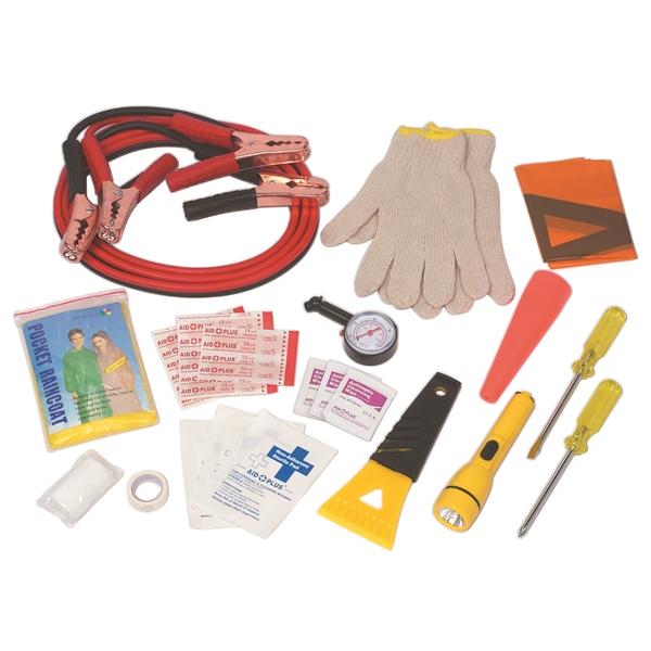 Auto Safety Kit - Auto safety kit with reflective tape on back side.