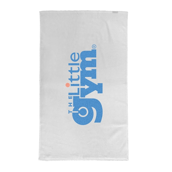 Performance Large Flat Hem Fitness Towel