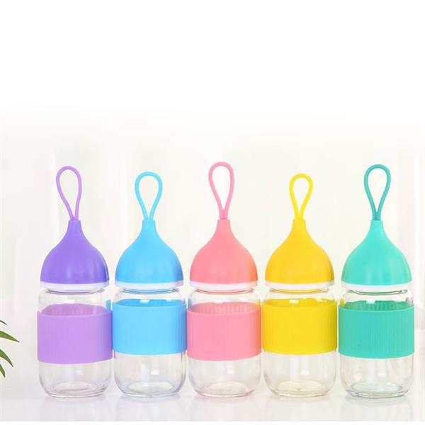 9.5 oz Glass Water Bottle
