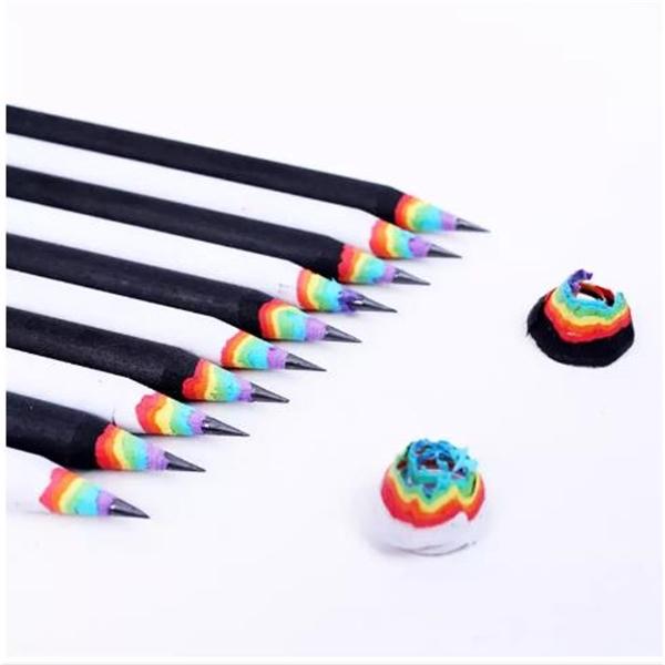 Hot Selling High-end Korea Cute Stationery Rainbow Pencil