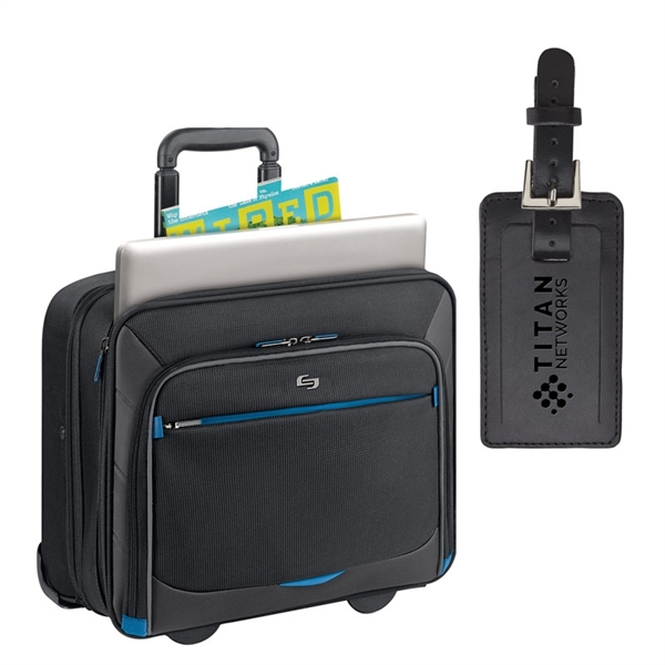 Solo® Active Rolling Overnighter Case