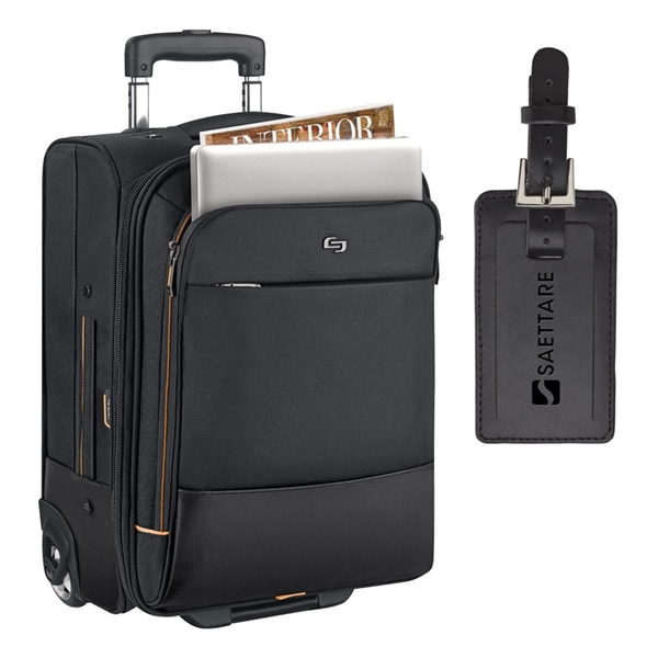Solo® Urban Rolling Overnighter Case