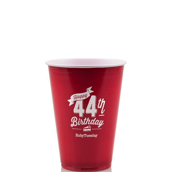 10 oz Solo® Plastic Party Cups - Red - Tradition