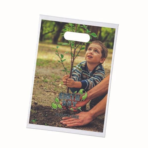 12 x 15 Oxo-Biodegradable Digital Full-Color Die Cut