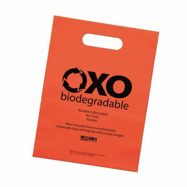 9 x 12 Oxo-Biodegradable Die Cut
