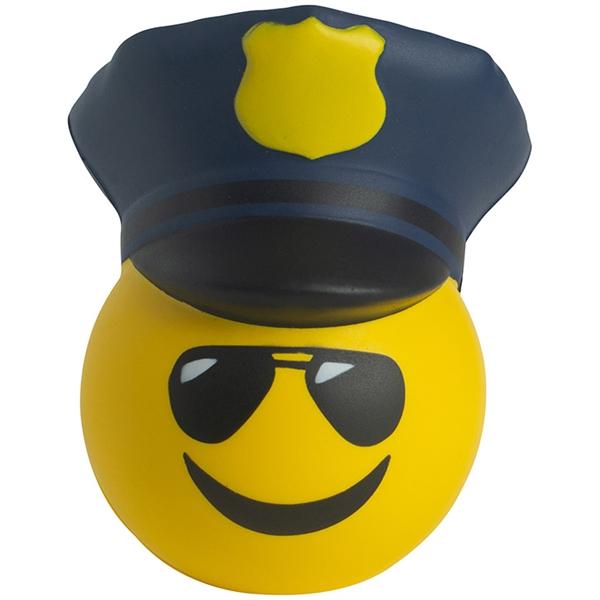 Police Emoji Stress Reliever