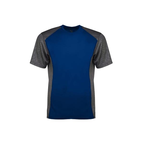 Badger Line Embossed Colorblock T-Shirt