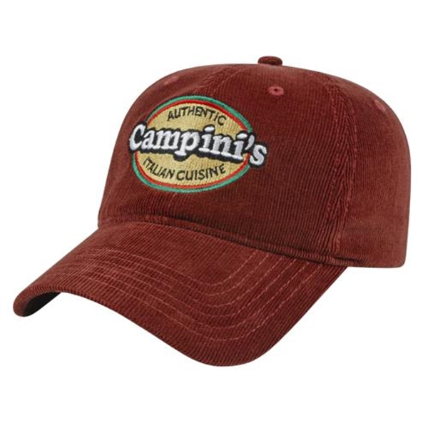 Unstructured Corduroy Cap