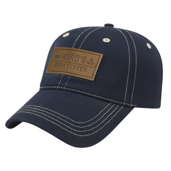 Contrasting Stitch Cap