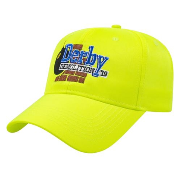 Fluorescent Safety Cap