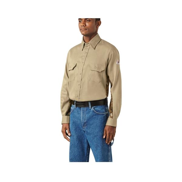 Bulwark Camo Uniform Shirt - EXCEL FR® ComforTouch® - 6 oz.