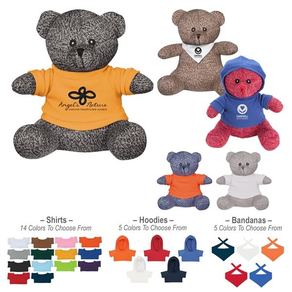 "8 1/2"" Landon Knit Bear"