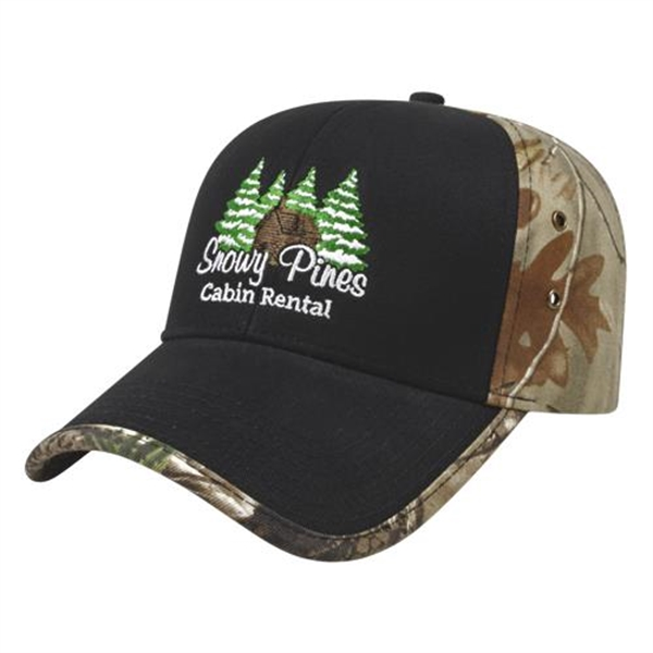 Solid Front Next G2™ Camo Back Cap