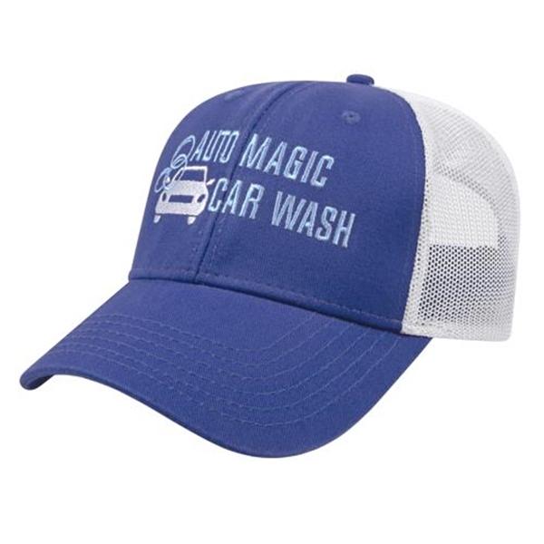 Washed Chino Twill & Ultra Soft Mesh Cap