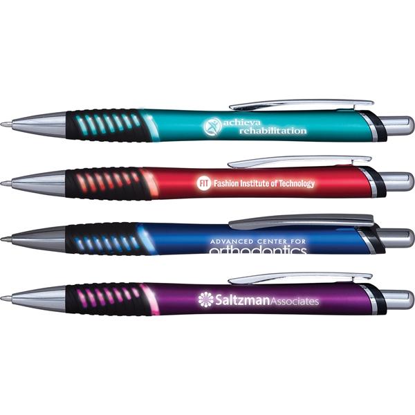 Lumitron Illuminated Grip Pen