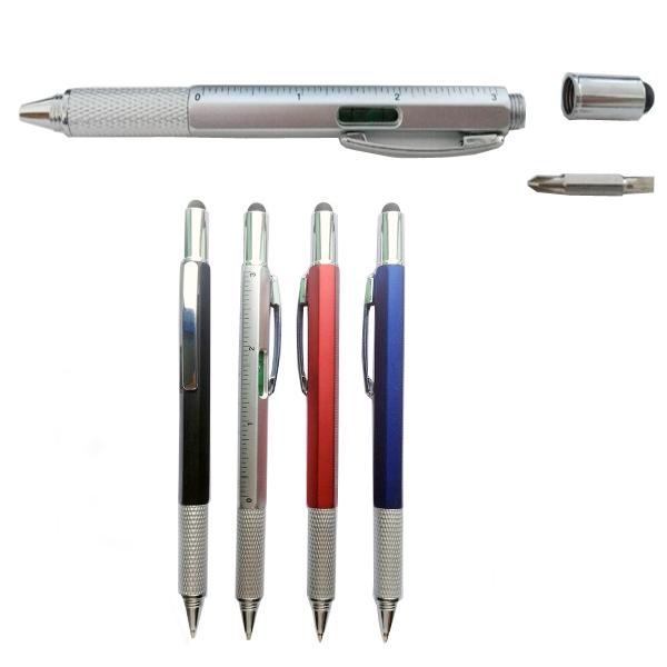 Multi-functional 6 in 1 Tool Pen