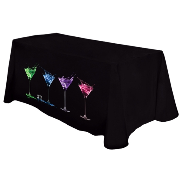 Digital Liquid Repellent 4' Table Throw