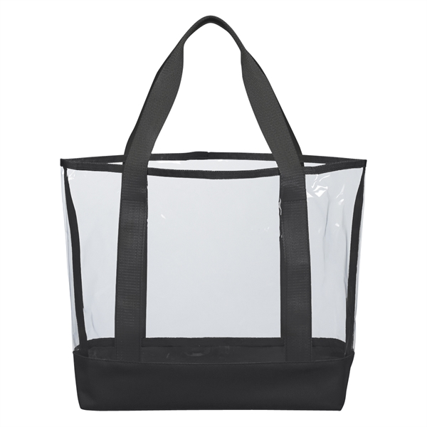 Clear Casual Tote Bag